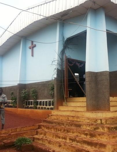 Chapelle à la prison de Bamenda