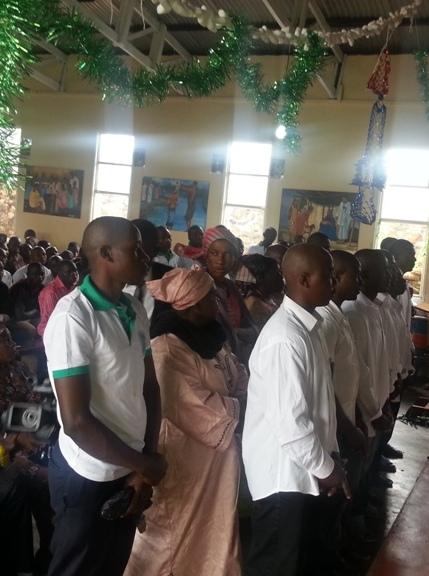 Prisonniers baptisés à Bamenda