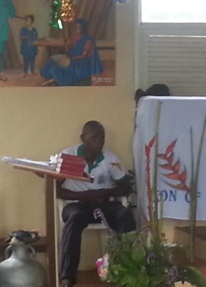 Maitre de chant à la prison de Bamenda