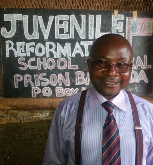 Enseignant à l'école de la prison de Bamenda