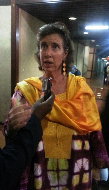 Représentante UNFPA Mme Barbara M.Sow