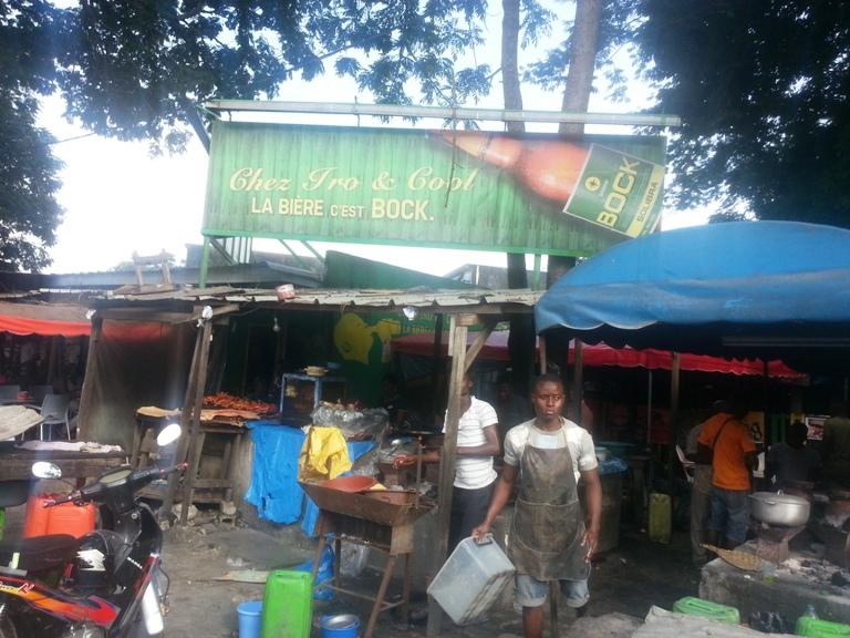 Quartier Maroc à Abidjan