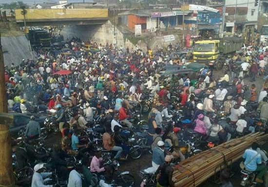 embouteillage Ndokoti