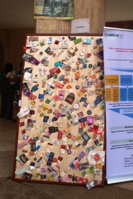Le mur des Préservatifs