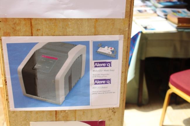 Une machine pour le bon dosage des CD4