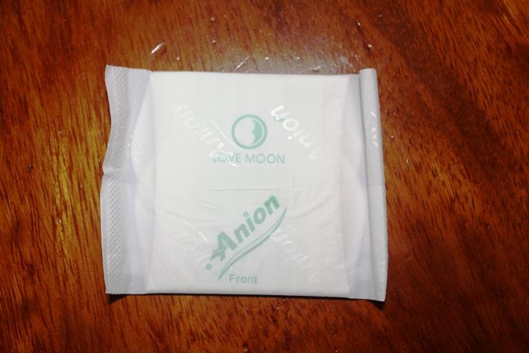 paquet d'une serviette hygiénique