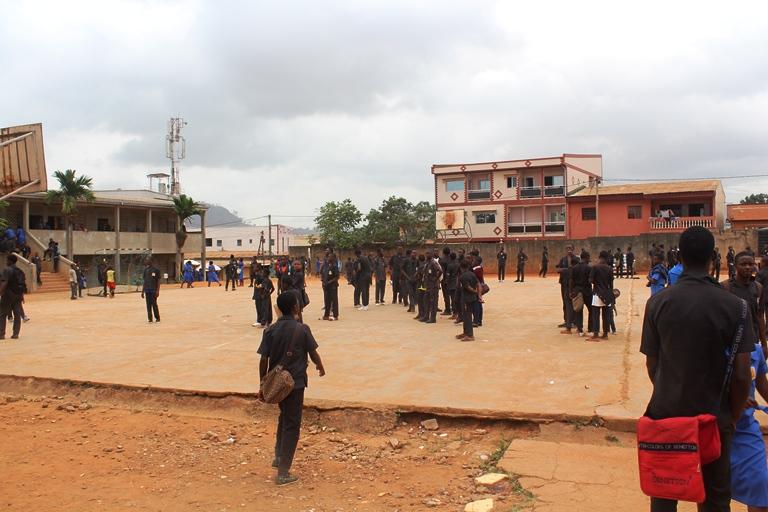 La Plate-forme du  Lycée de Biyem-Assi